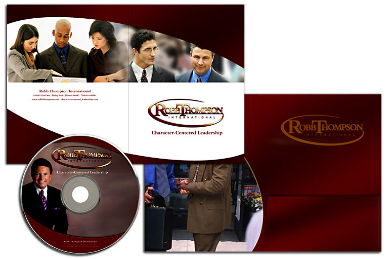 Folder and CD Design