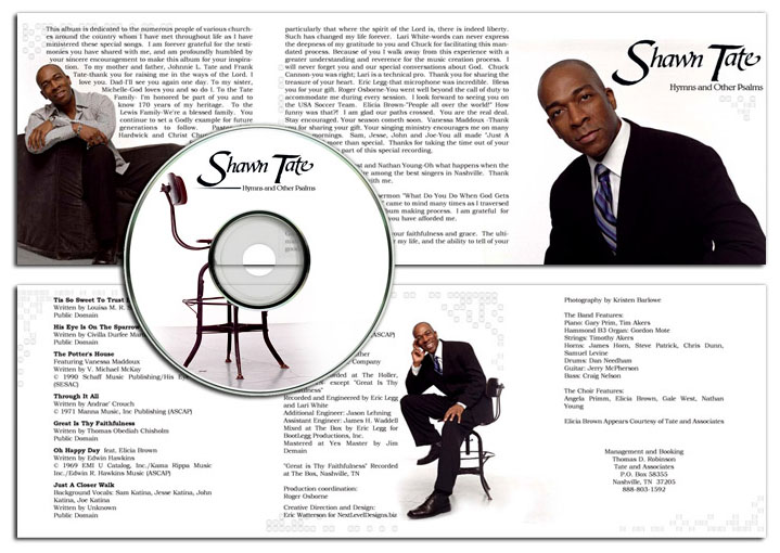 CD Cover and Insert