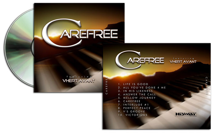 Care Free CD Design